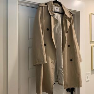 BRAND NEW WITH TAGS OLD NAVY KHAKI TRENCH